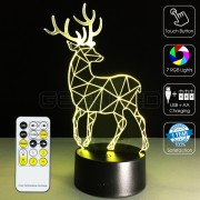 3D Elk Optical Lamp