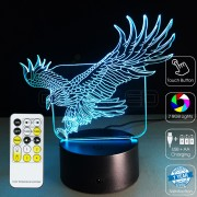 3D Eagle Optical Lamp
