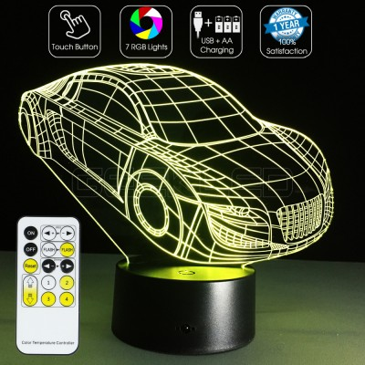 3D Car Optical Lamp