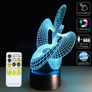 3D Dance Optical Lamp