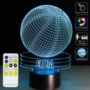 3D Basketball Optical Lamp
