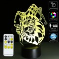 3D Clown Optical Lamp