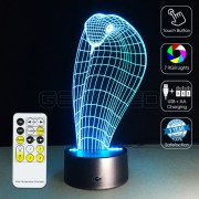 3D Cobra Optical Lamp