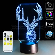 3D Buck Optical Lamp