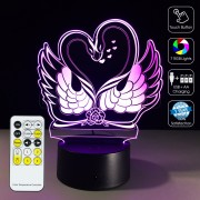 3D Goose Lover Optical Lamp