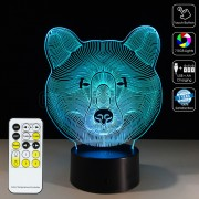 3D Bear Optical Lamp