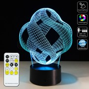 3D Illusion Ball Lamp