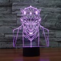 3D Optical Illusion Lamp Night Light Jedi Knight