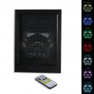 3D Storm Trooper LED Photo Frame Lamp
