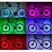Bike Wheel Spoke LED Lights 20 LEDs Twinkle 2PCS WL30